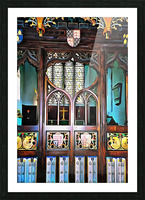 Lound Church Rood Screen 1 Picture Frame print