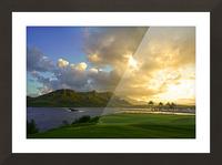 Sunset Nawiliwili Bay Kauai Hawaii Picture Frame print