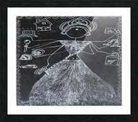 Warli Art Depicting multitask Picture Frame print