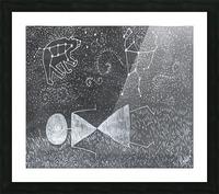Daydreaming--Warli Tribal art Picture Frame print