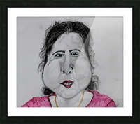 Self Portrait Picture Frame print