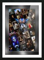 Xzendor7 Digital Classical Vintage Art Matrix Color Picture Frame print