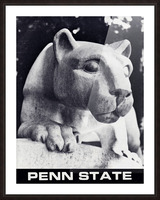 1988 Penn State Nittany Lion Shrine Art Picture Frame print