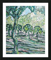 MulberryTrees Picture Frame print