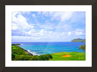 Beautiful Skies over Nawiliwili Bay in Kauai Picture Frame print