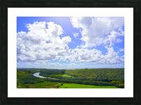 On the Wailua Heritage Trail   Wailua River to Wailua Beach 1 of 2 Picture Frame print