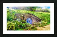 Hobbit Hole Picture Frame print