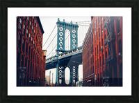 George Washington Bridge  Picture Frame print