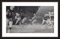 1968 New York Jets Joe Namath Pass Photograph Picture Frame print