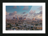 LA Twilight Picture Frame print