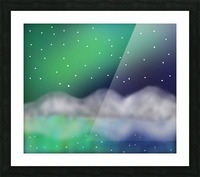 Northern Light 1 Picture Frame print