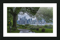 Downtown Toronto seen from Wards Island Picture Frame print