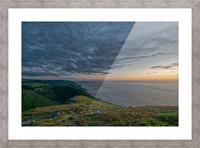 Blueberry Mountain Vista Picture Frame print