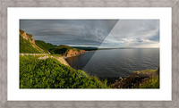 Cabot Trail View towards Cheticamp Picture Frame print