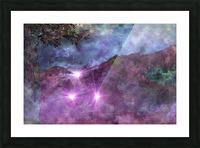 Landscape Mist Picture Frame print