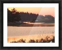 End of a Summer's Day Picture Frame print