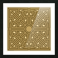 Maze 6012 Picture Frame print