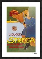 La Donna in Blu poster Picture Frame print