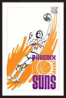 1977 Phoenix Suns Basketball Art Picture Frame print