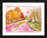 Autumn Trees Picture Frame print