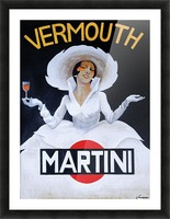Martini Rossi Picture Frame print