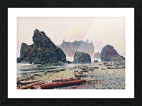 Ruby Beach Picture Frame print