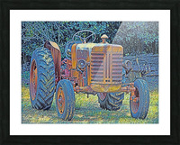 Tractor Picture Frame print