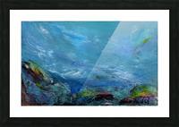 Adrift Picture Frame print