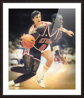1984 Michael Jordan USA Basketball Art Picture Frame print