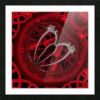 Vampyric cell Picture Frame print