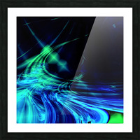 Tsunami Picture Frame print