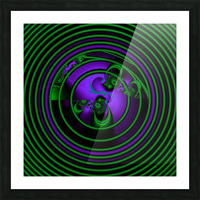 SETI Transmission Picture Frame print