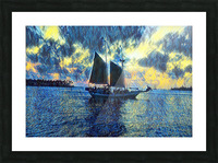 Sailboat Picture Frame print