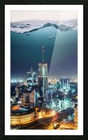 Nairobi Picture Frame print