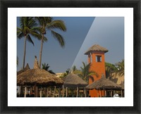 Mazatlan Resort Picture Frame print