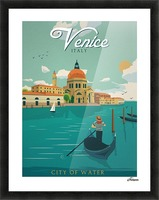 Venice Vintage Travel Poster Picture Frame print
