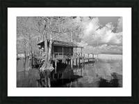 Fish Camp at Blue Cypress Lake Florida Picture Frame print
