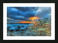Evening Storm Picture Frame print