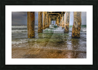 Gateway To The Sea Picture Frame print