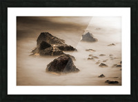 Beyond Here Be Dragons Picture Frame print
