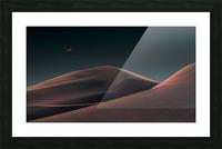 Lunar Sands Picture Frame print