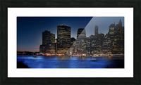 Brooklyn   USA Skyline Picture Frame print