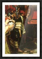 A Roman conqueror, detail -1- by Alma-Tadema Picture Frame print