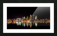Louisville Skyline Picture Frame print