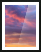 Sunset Sky Picture Frame print