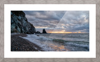 Presquile Sunset Picture Frame print