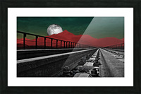 Railroad  Picture Frame print