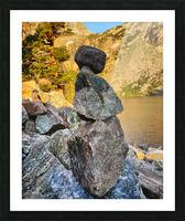 Emerald Lake  Picture Frame print