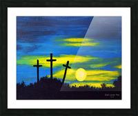 God loves you Picture Frame print