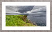 Cheticamp Island Drama Picture Frame print